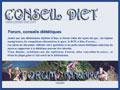Annuaire et forum diététique santé